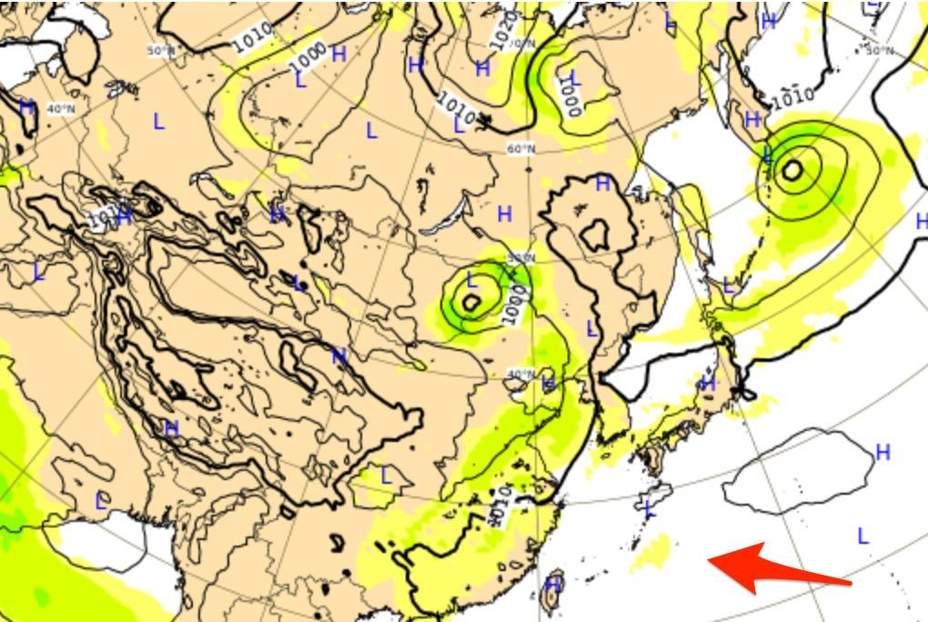 ヨーロッパ進路予想 台風7号